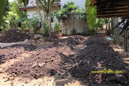 สวนหิน ปลูกหญ้า รับจัดสวน หน้าดิน